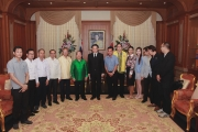 Embassy of the Lao P.D.R. Delegations' Visit