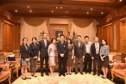Ms. Jill Lai, Educational Attaché, Taipei Economic and Cultural Office in Thailand's visit NIDA