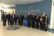 NIDA administrators visit Higher School of Economics, National Research University, Russia Federation
