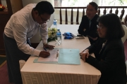NIDA 1st International Education Road Show in Mandalay