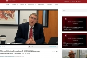 Webinar on E-Learning in Higher Education: Smart Practices from Indiana University via ZOOM