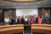 Delegation from Tribhuvan University, Nepal visits NIDA