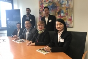 NIDA delegation visit International Graduate Center, Hochschule Bremen, Germany