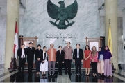 NIDA visited University of Indonesia