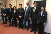 NIDA administrators visit University of Economic, Prague, Republic of Czech