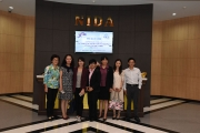 Delegate from University of International Business and  Economics (UIBE) visits NIDA