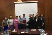 NIDA visited Yangon University of Economics